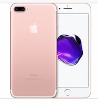 IPhone 7 Plus rose gold! STRAIGHT TALK Pacolet, 29372