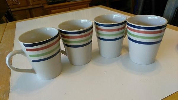 87ae0532193 Used 4 OLD COFFEE CUPS for sale in Spring Hill - letgo