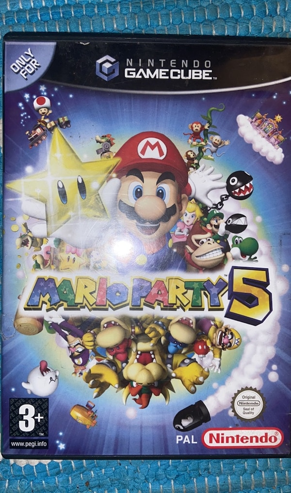 Mario Party Gamecube 0