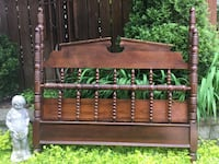 Delivery - antique double sized spool bed Toronto, M9B 3C6