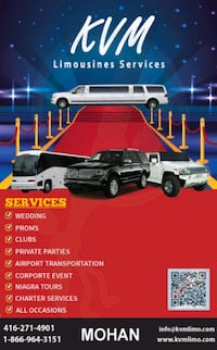 Wedding, Prom Limo & limousine services Party Bus  King City