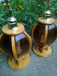 wooden lamps FREDERICK