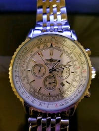 MINT stainless steel watch
