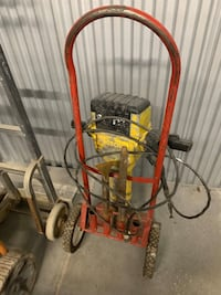 Bosch Brute Electric Demolition Jackhammer w/ Cart and Chisels