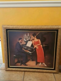 Piano player and singer painting Randallstown, 21133