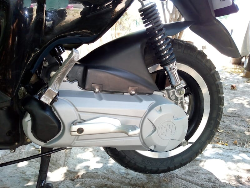 2010 Explorer Spin GE 50cc Scooter 8