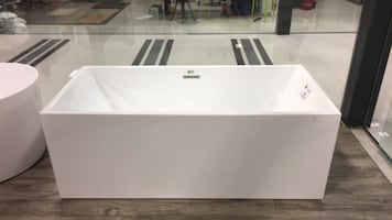 Rectangle Freestanding Bathtub: 20% OFF + Save Tax