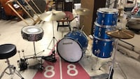 ludwig classic maple 5 peice drum set Highland, 20777