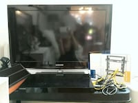 black Samsung flat screen TV Burke