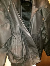 Leather coat Portage, 46368