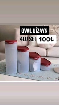 Tupperware oval dizayn set Balgat, 06520
