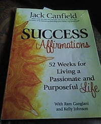 Success Affirmations book by Jack Canfield Newport, 02840