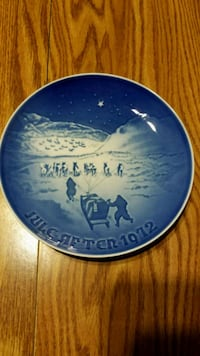 Jul i Grenland Collector Plate Gettysburg, 17325