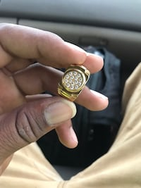 18K Gold plated pinky ring Ellicott City, 21043