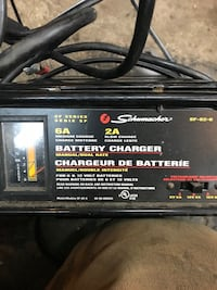 Battery charger priced to sell firm , T9G 0K9