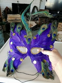 Feathered masquerade mask San Marcos, 92078
