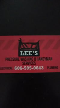 Handyman. Electrical &plumbing & masonary. Gray