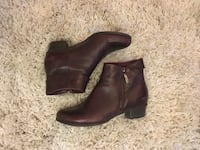 Bottines cuir Prune taille 36 6152 km