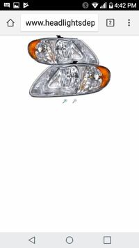 2007 town n country headlight Fort Lauderdale, 33312