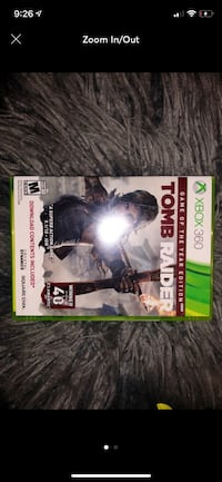 Xbox 360 tomb raider game Conyers, 30012