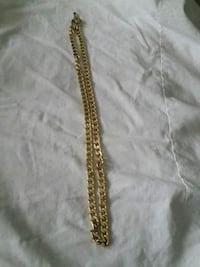 Heavy long gp yellow thick gold chain Mississauga, L5M 0P4