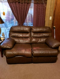 brown leather 2-seat sofa Estill Springs, 37330