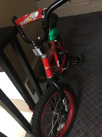 Red and black toddler bike Lowell, 01851