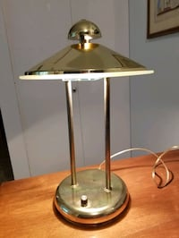 "Brass lamp works perfectly 16""-10"" Victoria, V9A 6A6"