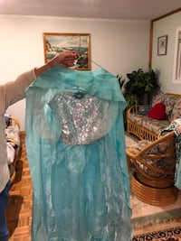 Elsa costume halloween with cape