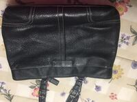 Black leather Coach purse Norman, 73071