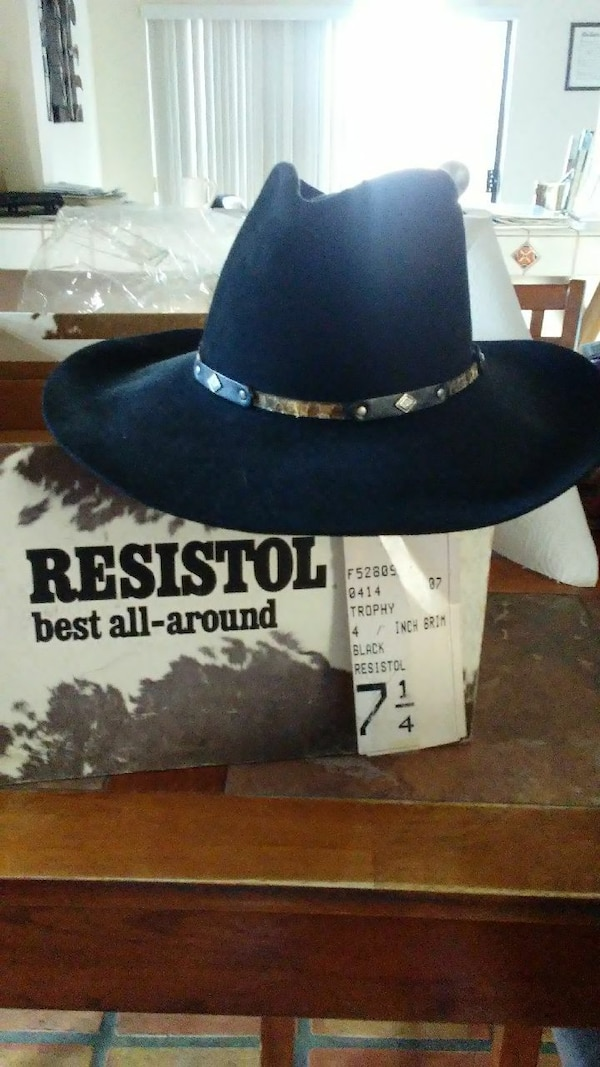 a100a2200d738 Used Resistol Cowboy Hat for sale in Lomita - letgo