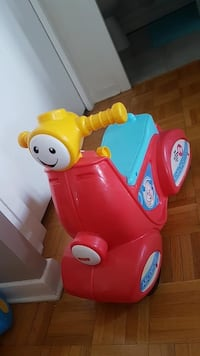 toddler's red and yellow ride on toy Georgetown, L7G 1L6