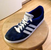 ADIDAS BLUE SUEDE CASUAL SHOES