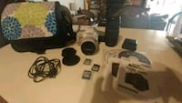 Canon Rebel SL1 White Bundle Richfield
