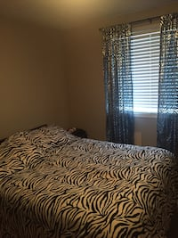 white and black zebra print bedding set Waterloo, N2K 3Y4