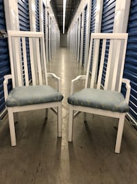 2 Wood Chairs with Arms Maple Ridge, V4R 2W3