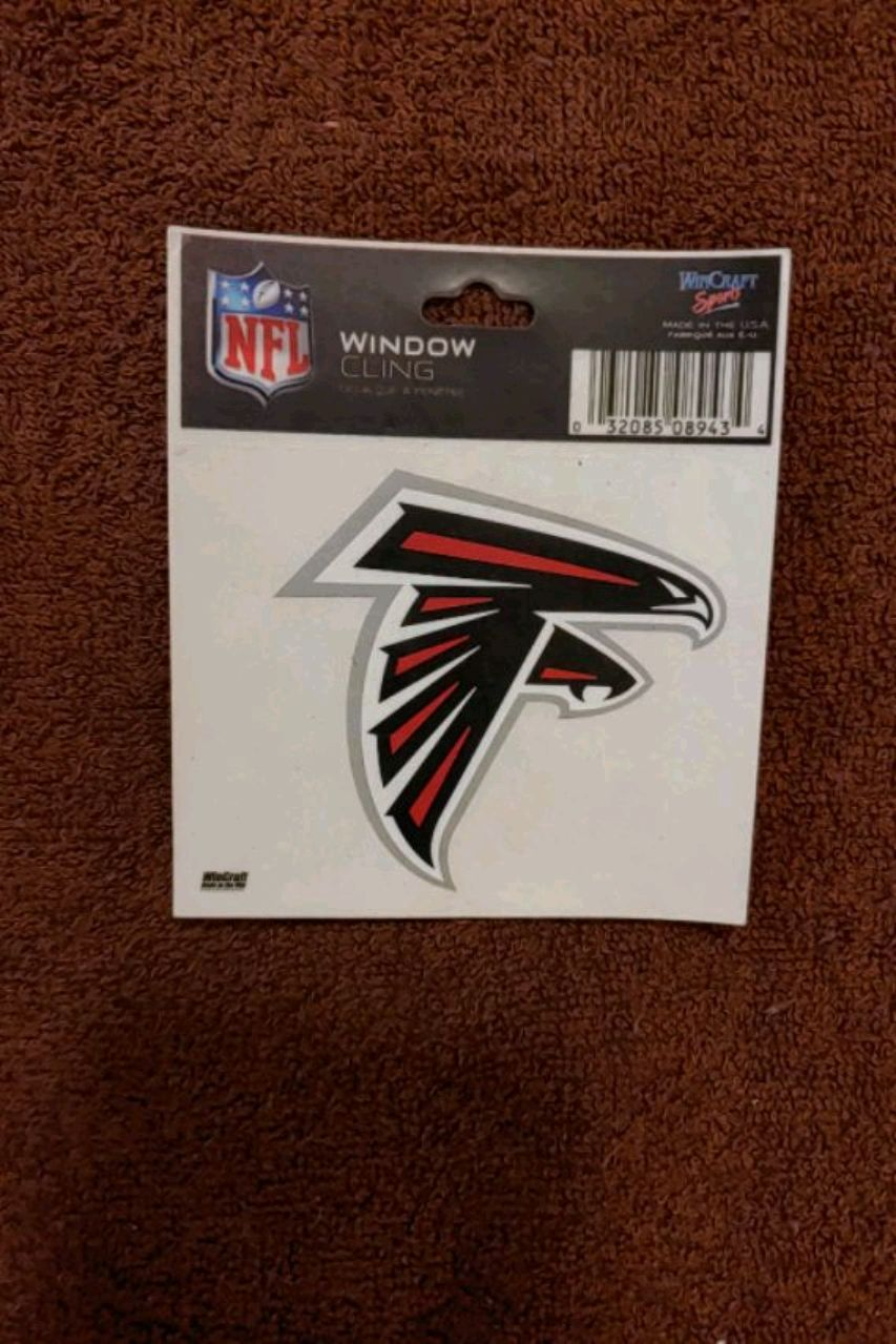 Photo Brand new Atlanta Falcons window decal