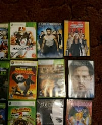 assorted-title DVD case lot Glade Hill, 24092