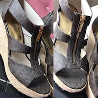 MK brown wedges size 8 Hilo, 96720