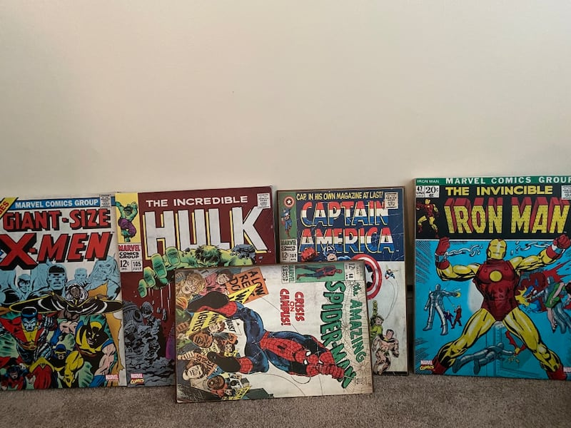 Superhero Canvas Wall Hangings 5