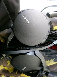 Sony  wired bass headphones