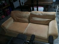 brown fabric 2-seat sofa Fort Myers, 33967