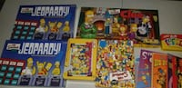 The simpsons collectibles.