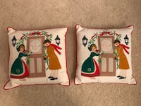 Handcrafted Vintage Christmas Pillows & Stockings  Vienna, 22182