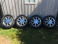 4 x Buick rims + summer tires Châteauguay, J6K 2V7
