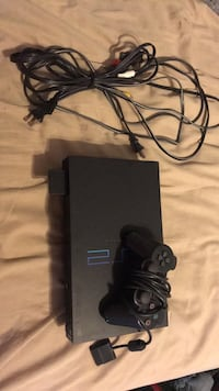 black Sony PS3 Slim with controller 2284 mi