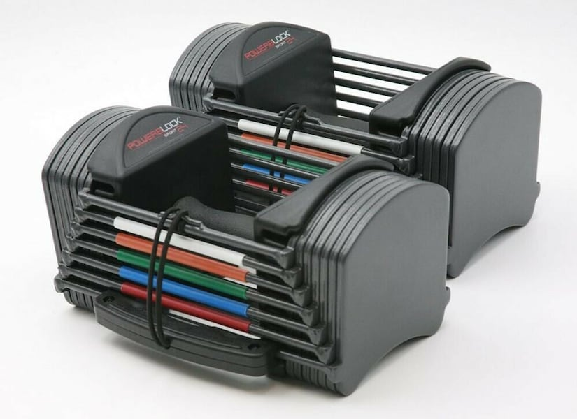 PowerBlock Sport 24 Adjustable Dumbbell, 24 lbs PAIR (Pack of 2) 6d8fdcc0-004a-4ebe-a54a-c72b25bd4240
