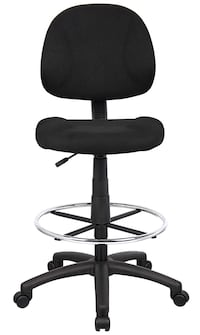 OCC Drafting Stool with Foot Ring