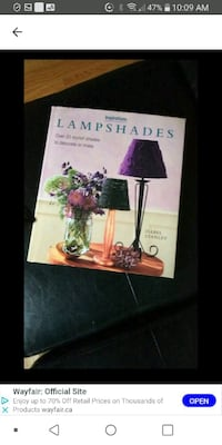 Lampshade craft book Laval, H7M 4A2