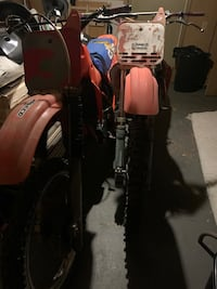1984 and 1985 cr125r for sale 1200or best offer Annapolis, 21401